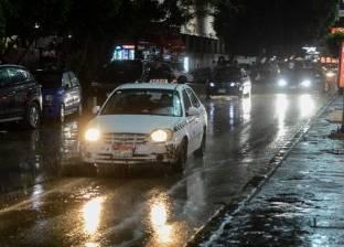 هطول أمطار خفيفة على مدينة أسوان