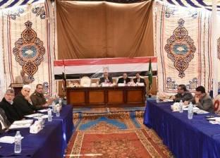 محافظ الشرقية يستعرض أداء رؤساء الوحدات المحلية بأبو حماد والقرين