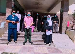 تعافي 25 حالة جديدة من فيروس كورونا بمستشفى صدر بني سويف