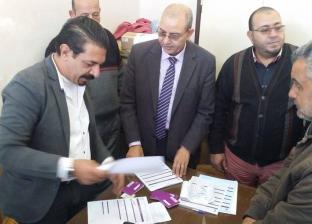 توزيع شريحة التابلت على طلاب الصف الأول الثانوي بمدارس بورسعيد