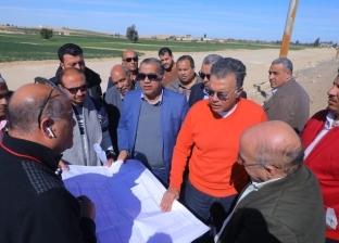 عرفات: الانتهاء من كوبري طريق الفيوم مع أسيوط الغربي نهاية يونيو