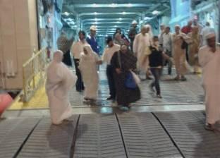 ميناء نويبع البحري يواصل استعداداته لاستقبال أفواج الحج البري
