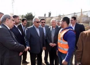 محافظ الشرقية يتابع سير أعمال إنشاء المستشفى العسكري بالزقازيق