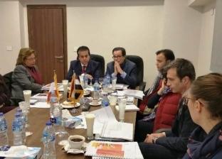 وزير التعليم العالي يبحث مع السفير الفرنسي آليات التعاون بين البلدين