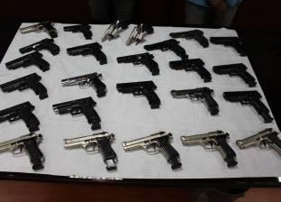 ضبط 3269 مخالفة مرورية و22 قطعة سلاح بدون ترخيص في المنيا