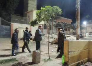 بالصور| مدير أمن الفيوم يتفقد مركز شرطة سنورس في زيارة مفاجئة