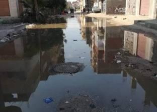 """رئيس """"أبو حماد"""": جار إصلاح خط """"الحلمية"""".. و""""المياه"""" ستغسل الشبكات"""