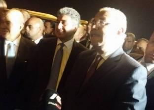 رئيس الوزراء يلتقي مسئولي شركة توتال الفرنسية