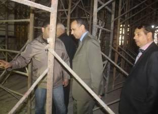 """""""الآثار"""": ترميم قصر الضيافة بالمرحلة الأولى من مشروع دير الأنبا بولا"""
