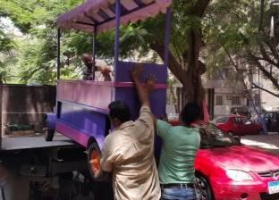 مجلس مدينة دشنا يقود حملة إزالات على الكافتيريات النيلية