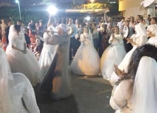 """""""الأورمان"""" تزوج 54 عروسة يتيمة في أسوان"""