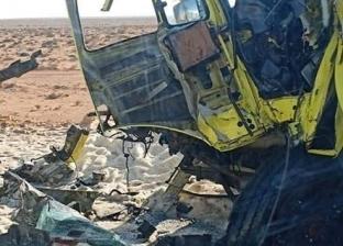 إصابة 12 شخصا في انقلاب سيارة ربع نقل على الطريق الإقليمي بالشرقية