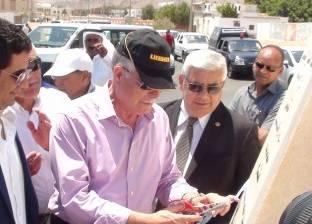 فودة يطالب بوضع لوحة نداء آلي داخل مركز خدمة المواطنين بمدينة دهب