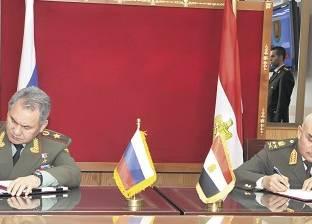 وزيرا الدفاع المصري والروسي يترأسان اجتماع اللجنة العسكرية المشتركة