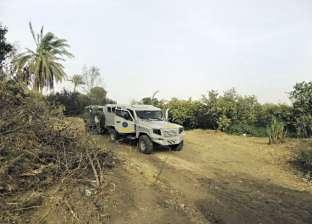 حملة أمنية لتطهير قرى «المثلث الذهبى» من فلول «عصابة الدكش»