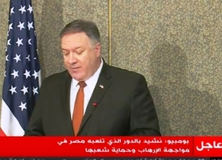 """""""بومبيو"""": الإدارة الأمريكية تقدر الدور المصري في الشرق الأوسط"""