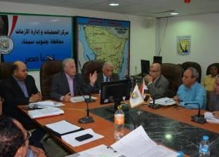 محافظ جنوب سيناء يطالب رؤساء المدن بإعداد تقرير للمتغيرات المكانية