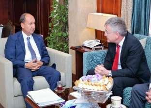 وزير التجارة يبحث مع سفير ألمانيا مستقبل التعاون الاقتصادي بين البلدين