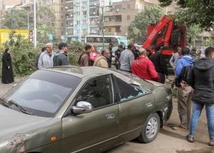 إصابة شخصين إثر انقلاب سيارة على الطريق الصحراوي بالبحيرة