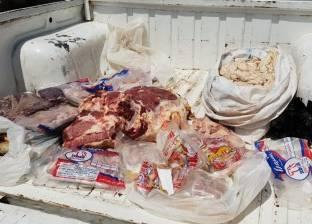ضبط مخابز بلدية مخالفة ولحوم فاسدة بمنيا القمح
