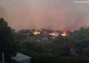 بالفيديو| النيران تجتاح البرتغال وتهدد إسبانيا
