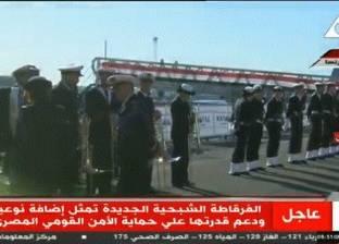 قائد البحرية الفرنسية: القوات البحرية المصرية مصدر فخر