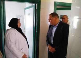 محافظ الشرقية يتفقد وحدة طب الأسرة بمشتول القاضي بالزقازيق