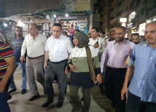 """""""قنصوة وبهية"""" في جولة مفاجئة بمنطقة """"الحضرة"""" وسط الإسكندرية"""