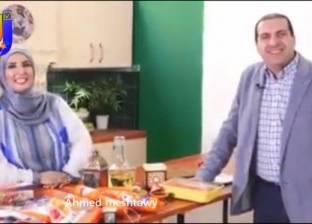 """ظهرت بجوار """"عمرو خالد"""" في إعلان """"فراخ وطنية"""".. من هي الشيف آسيا عثمان؟"""