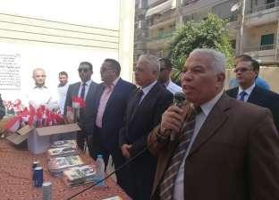 مدير  أمن البحيرة ووكيل التعليم يتفقدان المدرسة الفكرية بدمنهور