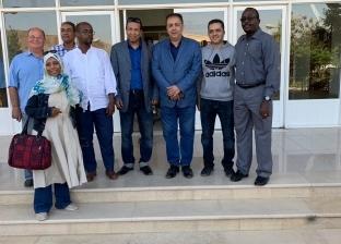 قافلة أسوان الطبية تبدأ عملها في جيبوتي