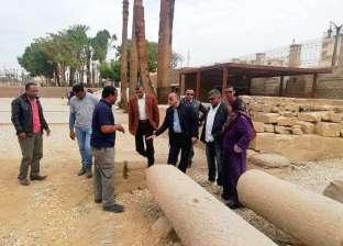 «أثريون»: مواد ترميم تمثال رمسيس الثاني معتمدة دوليا