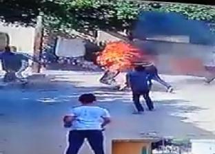 """""""سكب البنزين وجري وراه"""".. قصة نجار مسلح أشعل النيران في والده بالبحيرة"""