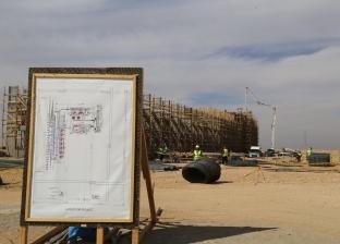 بالصور| محافظ قنا يتفقد إنشاءات محطة محولات كهرباء شرق ونجع حمادي