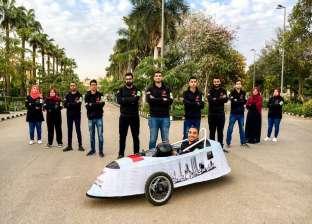 """فريق """"هندسة المنصورة"""" يحصد المركز الأول في سباق السيارات الكهربائية"""