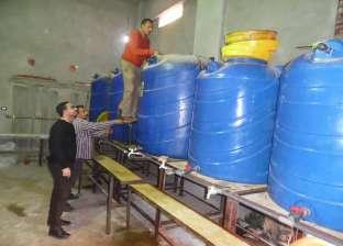 بالصور| ضبط مصنع لتعبئة الزيوت والخل بدون ترخيص في كفر الشيخ