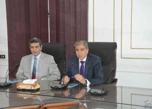 محافظ المنيا يبحث مع رئيس الجامعة أوجه التعاون في قطاعي الصحة والتجميل