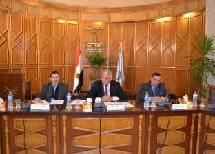 جامعة الإسكندرية تناقش إنشاء وحدة تدريبية متخصصة في فرع مطروح