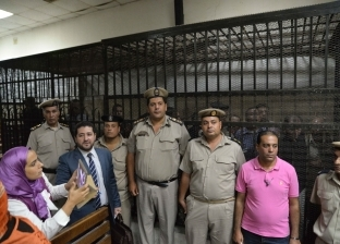 جنايات المنصورة تنظر محاكمة المتهمين بالتظاهر في قضية مقتل ريان ومحمد