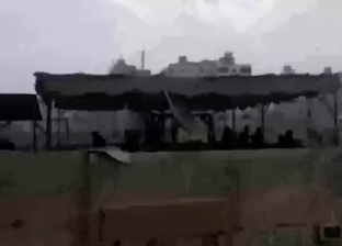لحظة اختراق قوات الأمن لوكر إرهابي حركة حسم في المطرية