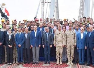 ضاحي يشيد بسواعد مهندسي مصر المشاركين في تنفيذ محور روض الفرج