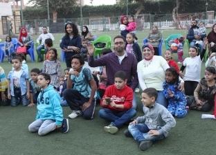 مهرجان للألوان ضمن احتفالات نادي المنيا بعيد الطفولة