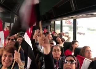 الجالية المصريىة بأمريكا