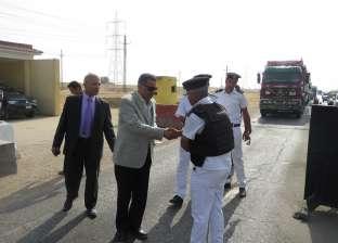 مدير أمن الإسماعيلية يتفقد عددا من الأكمنة والتمركزات الأمنية