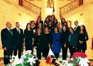 وزيرة الهجرة تلتقي أعضاء السفارة المصرية بلبنان وتتابع أحوال الجالية