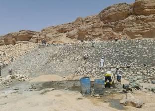 """""""المياه الجوفية"""": سد وادي زلجة أحد أهم السدود في حصاد مياه السيول"""