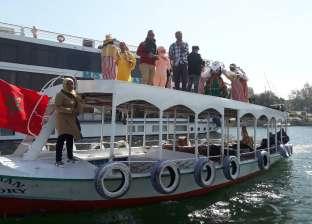 تفاصيل مشاركة وزيرة الثقافة في ديفيليه المراكب النيلية بأسوان