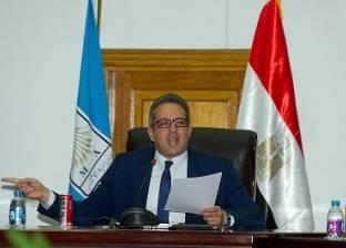 وزير الآثار يحدد الحرم الجمالي لمسجد قوصون بالدرب الأحمر