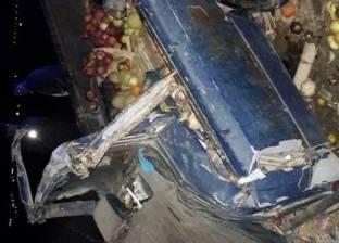 """مصرع شخص وإصابة آخر إثر تصادم سيارتين على طريق """"العريش - القنطرة شرق"""""""