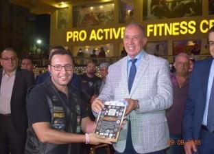 محافظ البحر الأحمر يكرم الفرق المشاركة في مهرجان الدراجات النارية